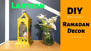 How to make Moroccan Lantern with Cardboard | DIY