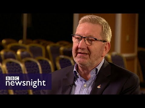 Labour does not have anti-Semitism issue: Len McCluskey - BBC Newsnight