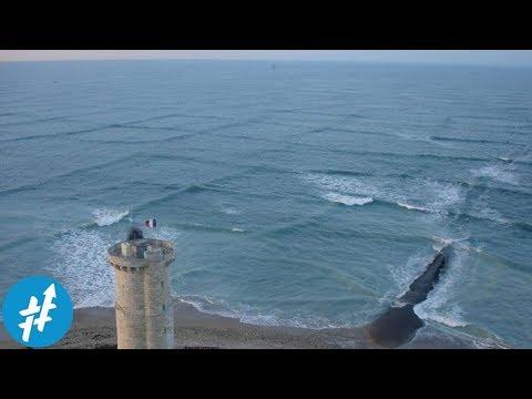 Jika Kamu Lihat OMBAK KOTAK Di Laut. Segera KABUR...!!!