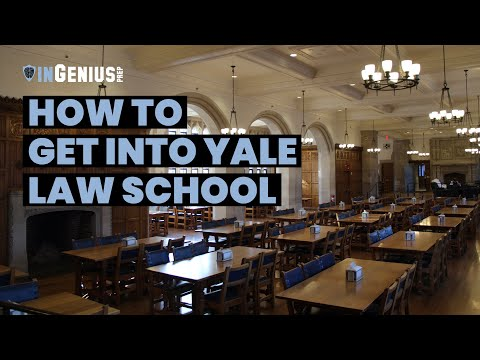 How To Get Into Yale Law School