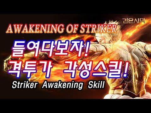[Active]검은사막 격투가 각성 스킬영상! Black Desert Striker Awakening Skill