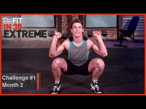 Strength Challenge 1| Level 2- BeFit in 30 Extreme