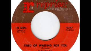 Kinks - Tired Of Waiting For You, Mono 1965 Reprise 45 record.