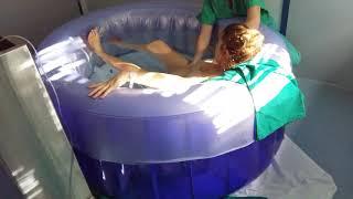 Τοκετός στο νερό - waterbirth Νίκος Παπανικολάου