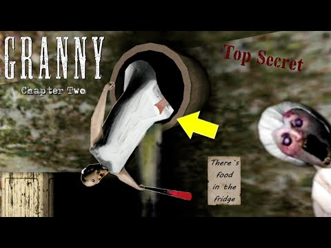 Easter Eggs And Secret Notes In Granny Chapter 2|| Granny 2 Secrets