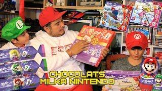 (EP57) Chocolats Milka Nintendo