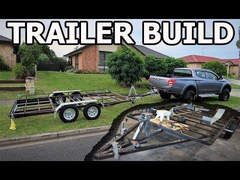 Racecar Trailer Build + Lifting The Ute