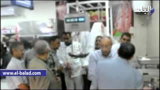 بالفيديو والصور.. محافظ أسوان يفتتح مجمع نصر النوبي الاستهلاكي