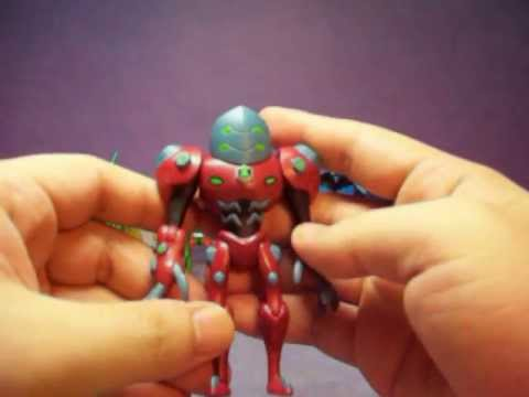 ben 10 omniverse figures big chill diamond head zombozo