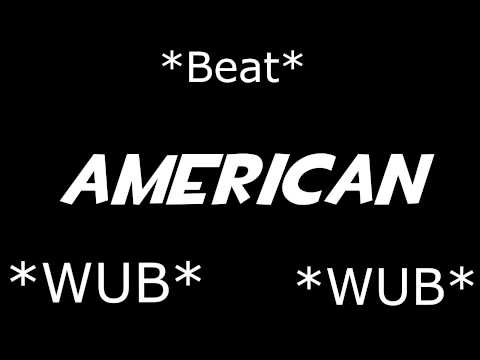 Real American (Dubstep Remix) [Typography]