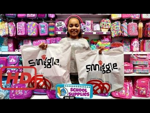 Bad Baby Smiggle School Supplies - Shopping For Clothes & Birthday Presents - Surprise Toys For Kid