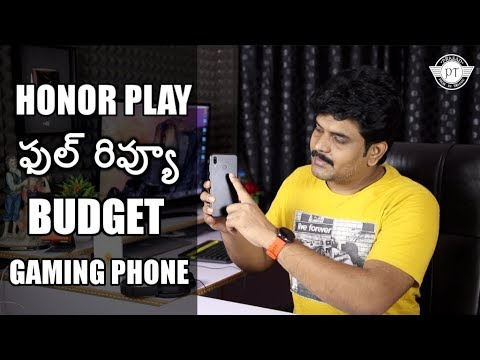 Honor Play Review With Pros & Cons ll budget gaming phone ll in telugu ll