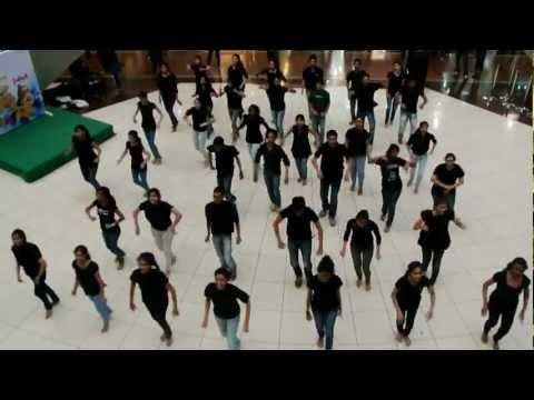 flash mob by fcrit,vashi students!!