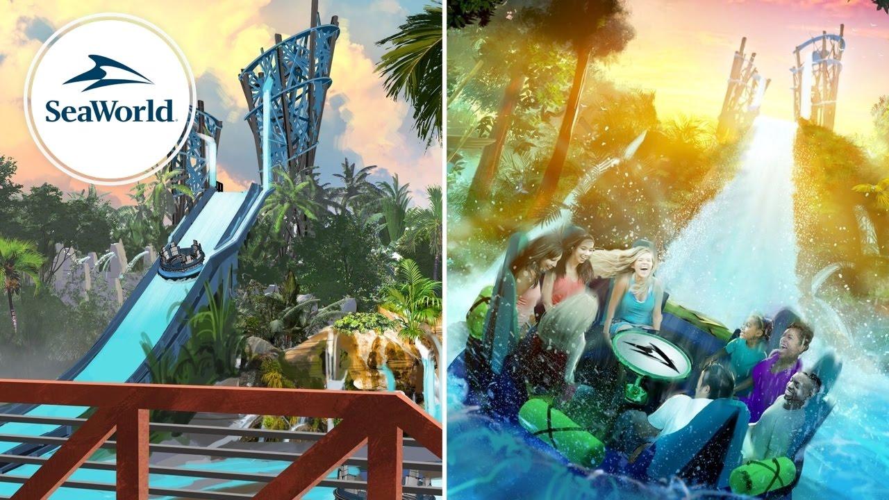 Infinity Falls SeaWorld