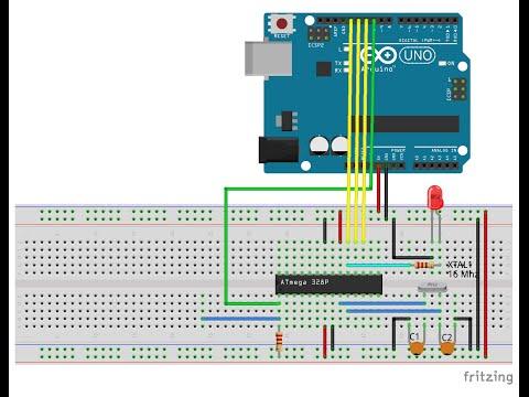 Program Standalone BreadBoard Arduino of ATmega328, using custom board defination