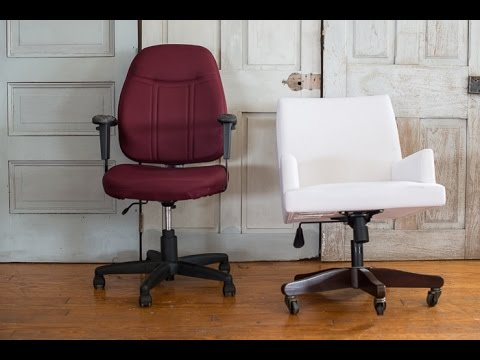 repurposed desk chairs | meganu0027s office makeover & repurposed desk chairs | meganu0027s office makeover - YouTube