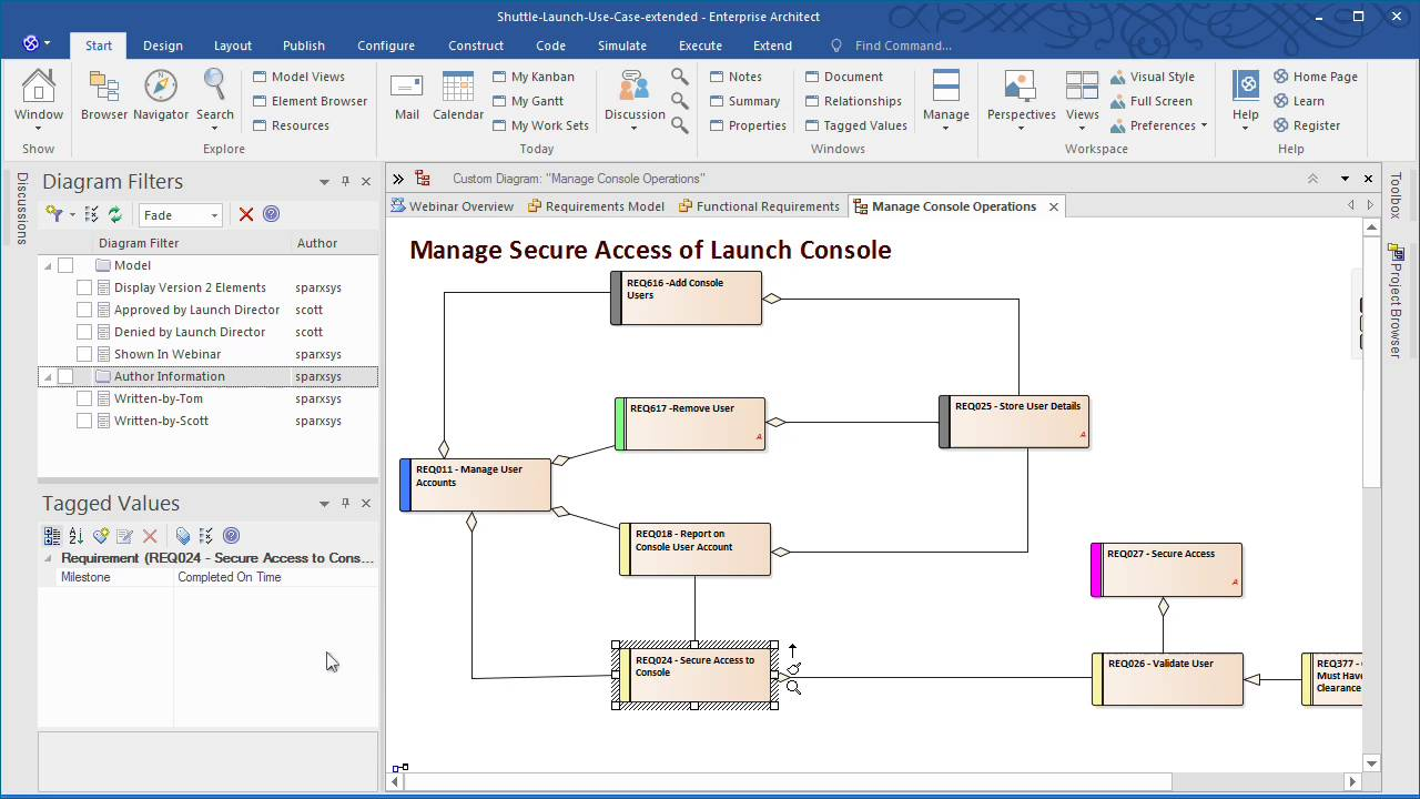 Requirements Management in Enterprise Architect 13  YouTube