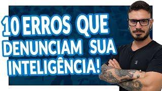 10 PIORES ERROS DE LÍNGUA PORTUGUESA! [Pablo Jamilk]