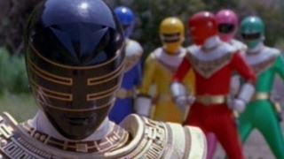 Gold Ranger and Pyramidas First Scene and Battle (Power Rangers Zeo)