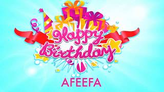 Afeefa   Wishes & Mensajes - Happy Birthday