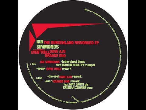 Ian Simmonds - The Esel - Dave Aju RMX