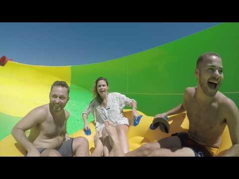Momentos de adrenalina no Beach Park!