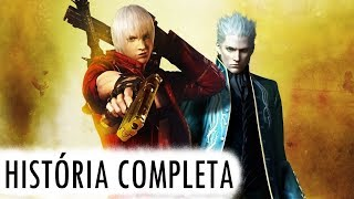 Devil May Cry 3 - HISTÓRIA COMPLETA - Saga (DMC)  Parte 1