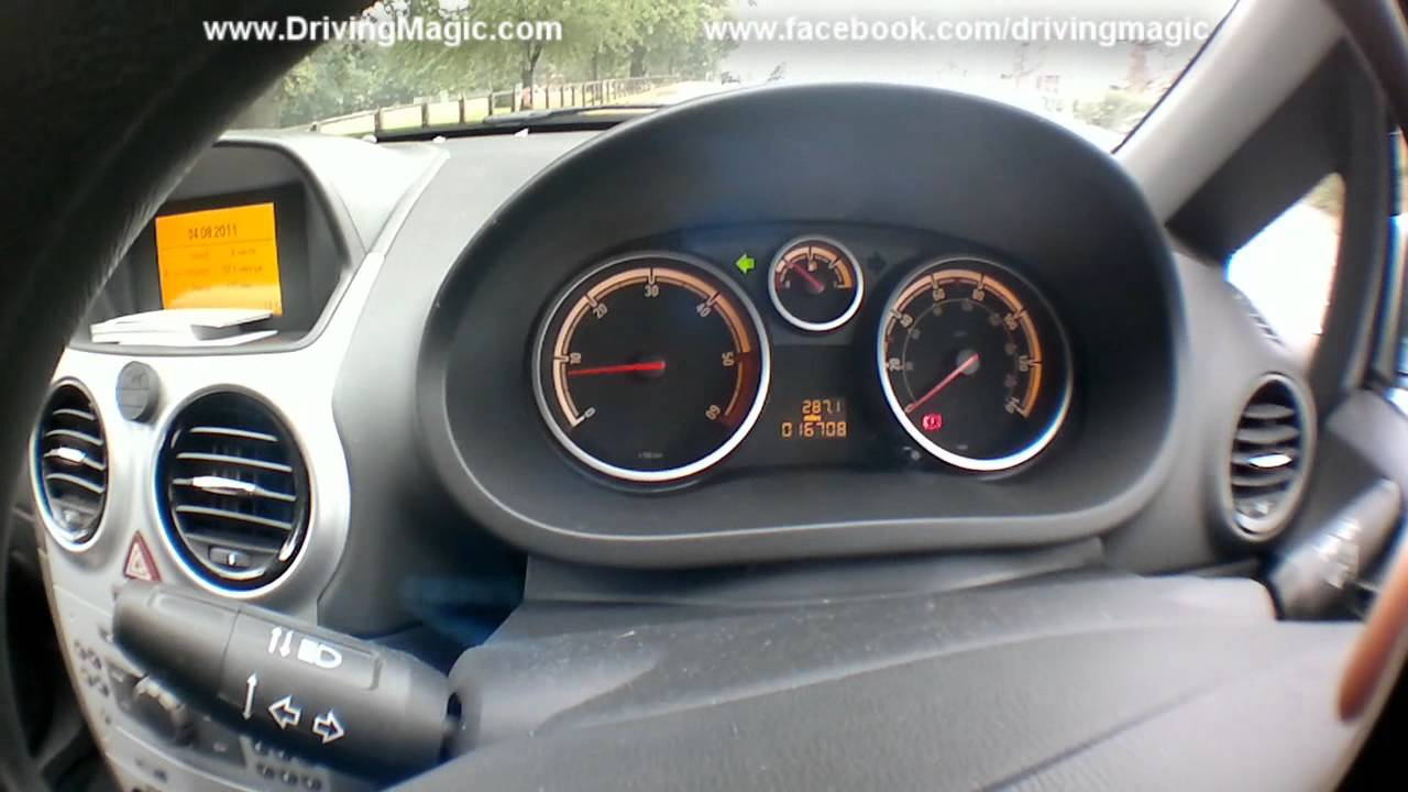 Basic Car Controls For A Vauxhall Corsa Driving Lessons 4