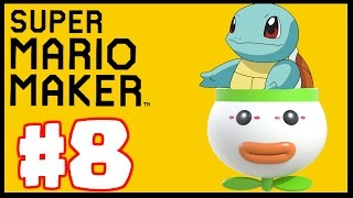 BEST POKEMON LEVEL STAGE! - Super Mario Maker - Super Mario Maker Create Gameplay Part 8