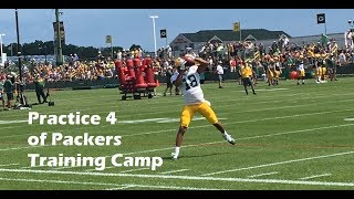 Catch the Green Bay Packers receivers in action