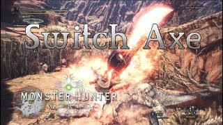 Monster Hunter-Welt - Switch Axe Gameplay - Waffen, Showcase-Teil 3