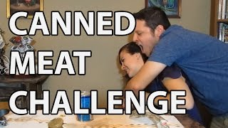 COLD CLAM CHOWDER Canned Meat Food Challenge