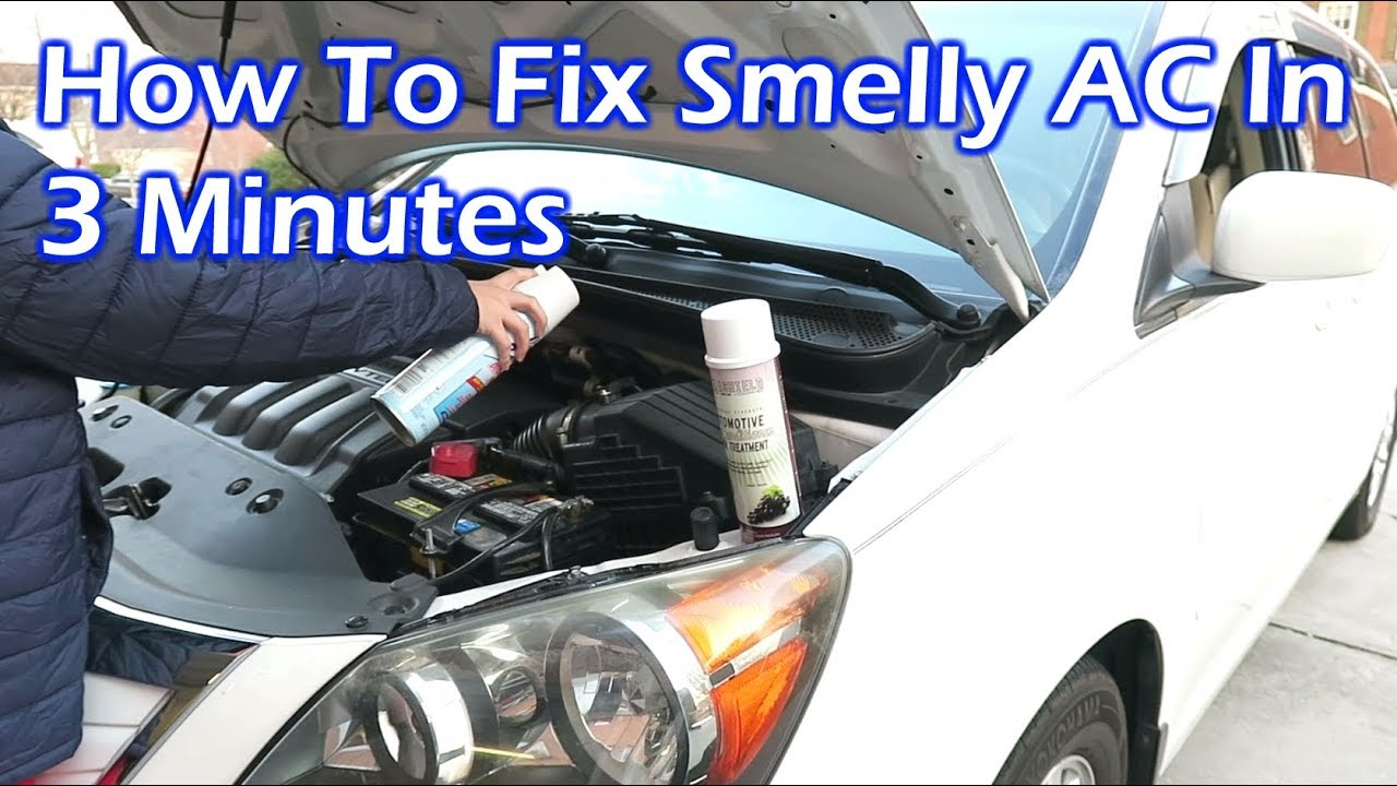 How To Fix Smelly Ac In Your Car Like The Pro 3 Minutes You