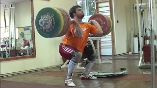 CLEAN & JERK 230kg/507lbs - FROM ARCHIVES 2012