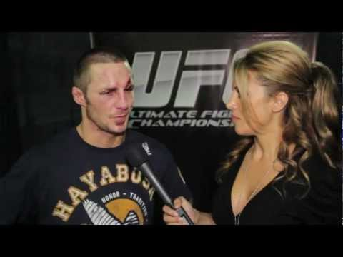 Eddie Wineland post-fight interview at UFC on FX with Kavita Channe...