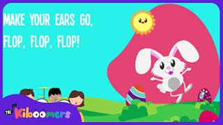 Easter Bunny Hop Hop Hop Song Lyrics for Kids | Nursery Rhymes for Children