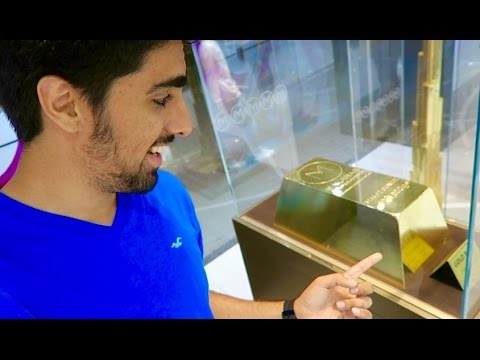 $6.5 Million Dollar Gold Bar !! 160kg of pure Gold !!!