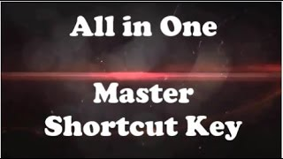 Excel Super key - Master-shortcut key