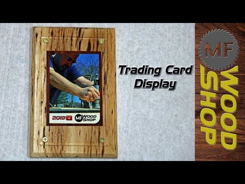 How To Make A Trading Card Display