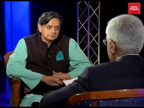 Dr. Shashi Tharoor Interview by Karan Thapar On His Book 'An Era Of Darkness'