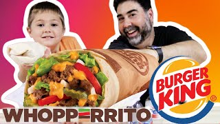 The New Burger King Whopperito Taste Test | Vito the Kid