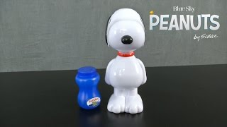 The Peanuts Movie Action Bubble Blower from Little Kids