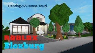 Bloxburg Friend's House Tour!! w/ hendog765 | ROBLOX