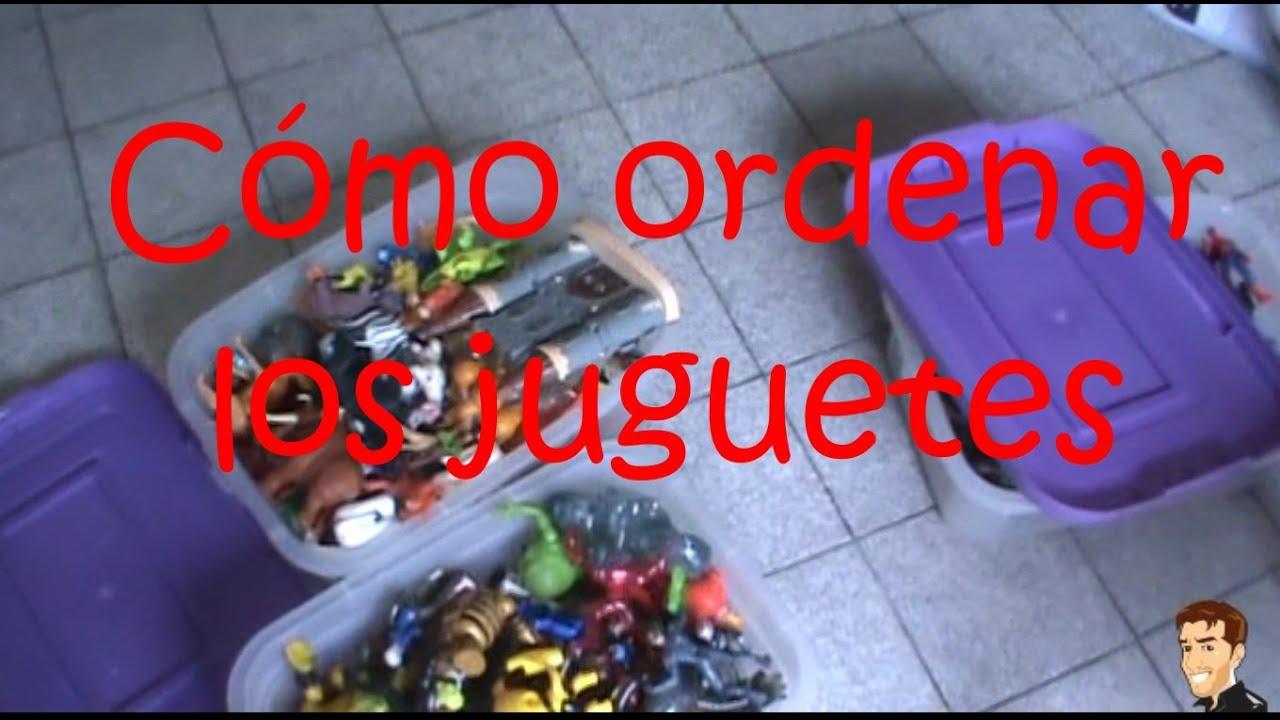 Consejos c mo ordenar los juguetes youtube - Como ordenar la casa ...