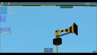 Roblox Tornado Siren Test: Federal Signal Thunderbolt 1003 (BumbleBolt)