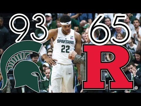 MSU VS Rutgers FULL GAME 1.04.17