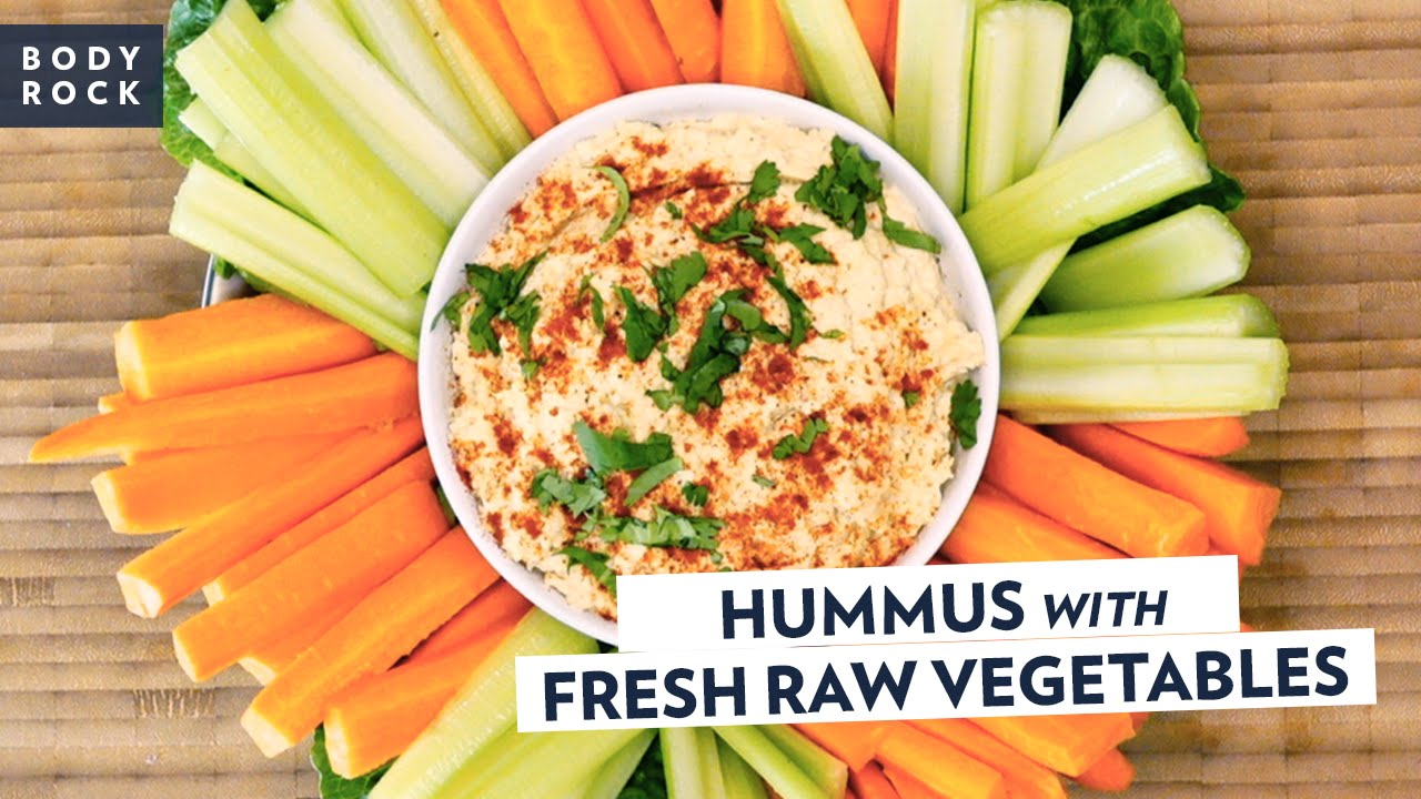 how to make fresh hummus