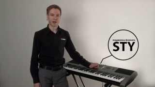 Видеообзор портативного клавишного инструмента Yamaha PSR-E353
