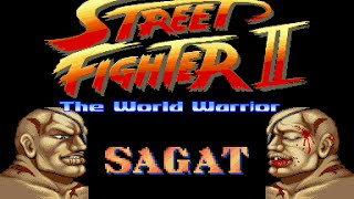 Street Fighter II World Warrior - Sagat
