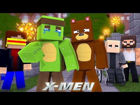 X-MEN - TINY TURTLE'S POWERS ARE GONE!! w/Bruno The Bear